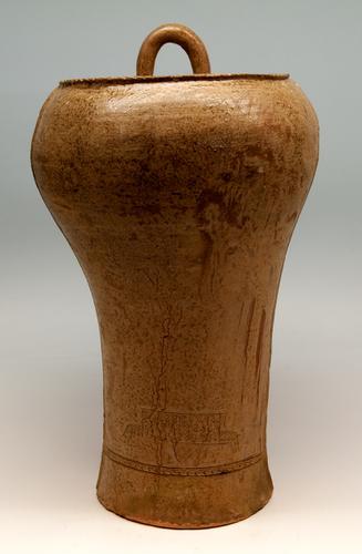 Terracottabel type Chhung yu Periode van de Strijdende Stat