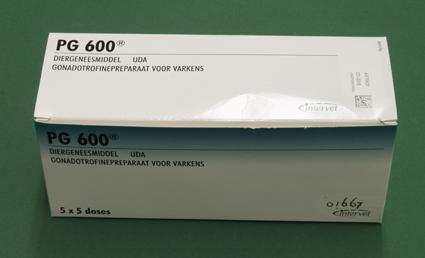 PG 600, middel voor oestrusinductie en - synchronisatie