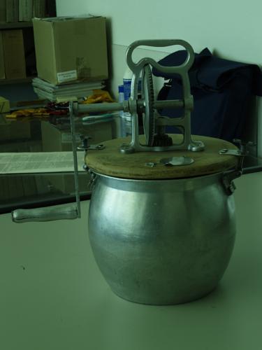 Klein model boterkarn (5 liter)