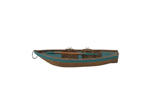 Model van een Walenboot