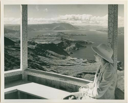 Landschapsfoto: uitzicht over het Toba Meer vanaf Hoeta...
