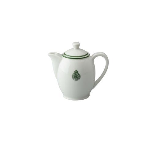 Koffiepot van porselein, klein model, met het logo van de...