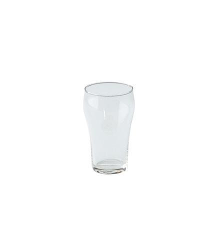 Colaglas met op de kelk het logo van de Koninklijke...
