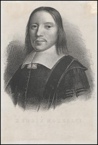 Portret van Henricus Moreelse