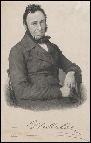 Portret van Gerardus Johannes Mulder