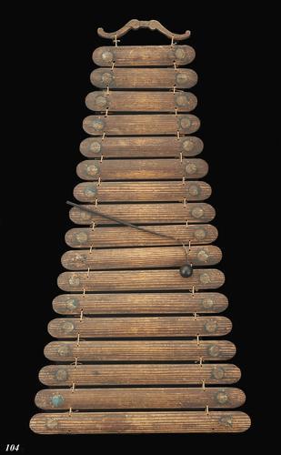Xylofoon van essenhout