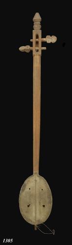 Strijkinstrument van kokosnoot