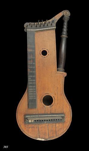 'Harfen-zither' zonder snaren