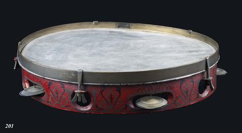 Gedecoreerde tamboerijn