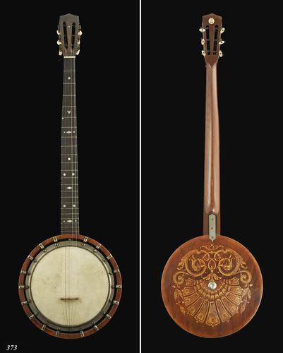 Banjo met foedraal