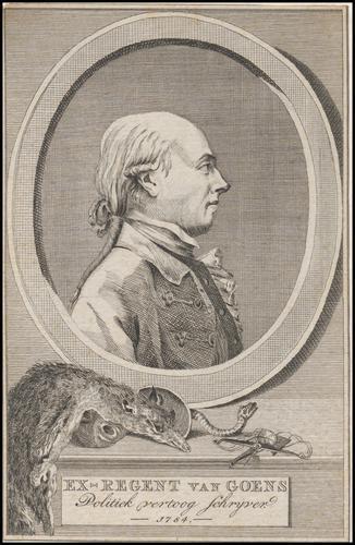 Ex-regent R.M. van Goens
