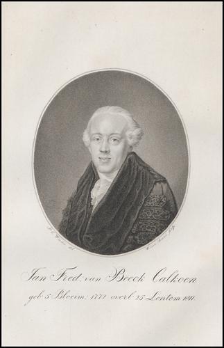 Jan Frederik van Beeck Calkoen