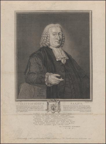 Christophorus Saxius