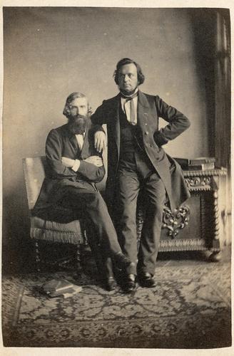 Dubbelportret met Franciscus Cornelis Donders