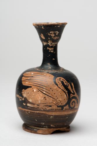 Olie- of parfumfles of Lekythos
