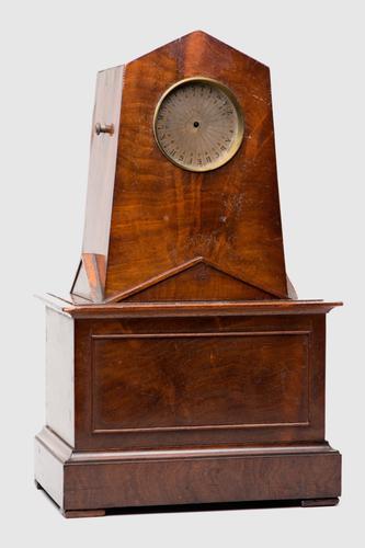 Ontvanger van telegraaftoestel volgens Wheatstone