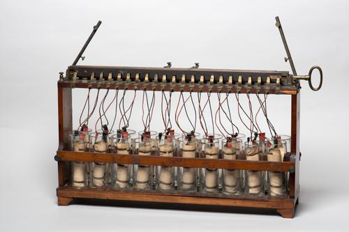 Accumulatorenbatterij volgens Planté
