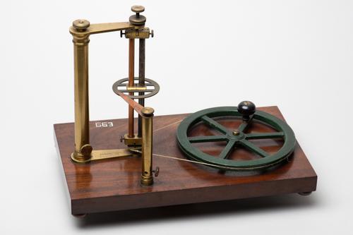 Toestel voor de magnetische inductie volgens Plücker