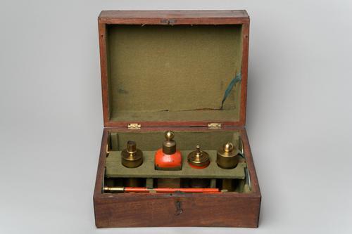 Instrumenten voor de grondproef van Volta