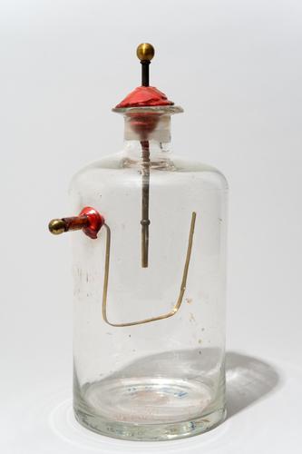 Goudbladelektrometer volgens Andriessen
