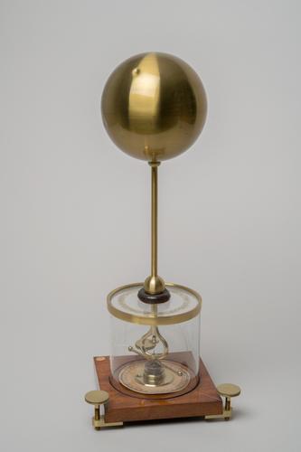 Dampkringselektrometer volgens Peltier
