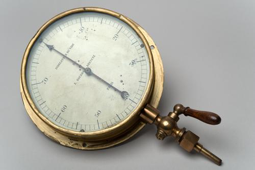 Manometer volgens Bourdon