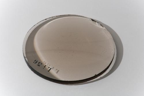 Dubbelbolle lens