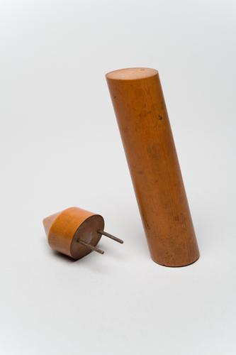 Cilinder voor de leer van het zwaartepunt