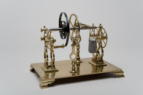 Instrument om het effect der wrijving te tonen