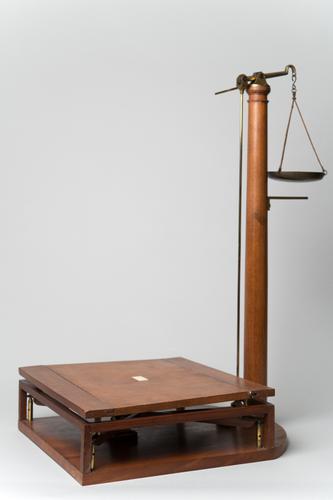 Model van een brugbalans
