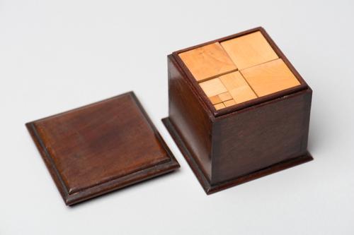 Verdeelde kubus