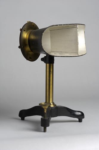 Phonautograaf, onderdeel van noematachograaf