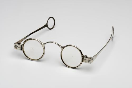 slapenbril met zilveren montuur