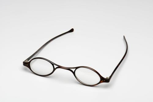 Slapenbril met ovale glazen