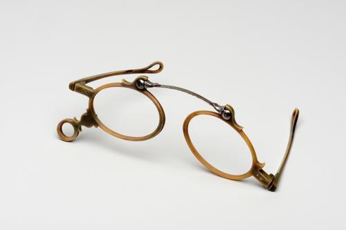Opvouwbare neusklembril