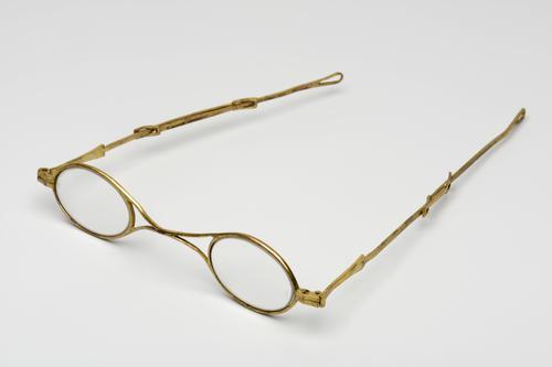 slapenbril met schuifveer