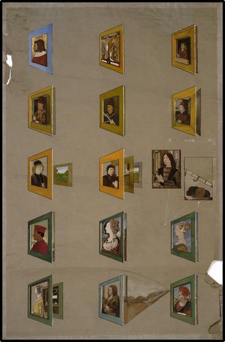Onderwijsplaat kunstgeschiedenis