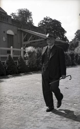 Portretfoto van H. Schornagel