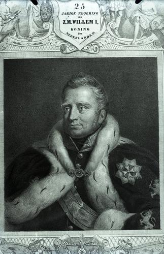 Portret van Willem I
