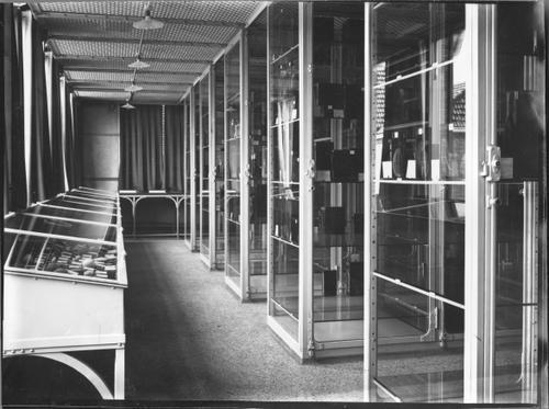 Foto van het museum in het Pathologisch Instituut