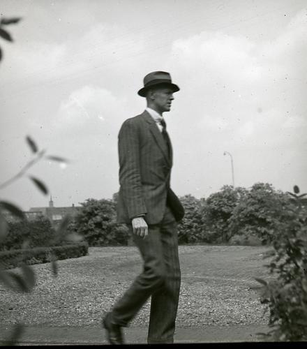 Portretfoto van G.M. van der Plank