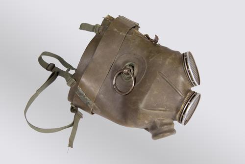 Gasmasker voor paarden