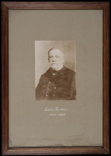 Portretfoto van Louis Pasteur