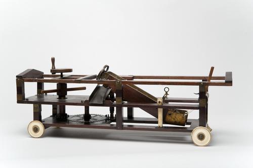 Model van een brandspuit