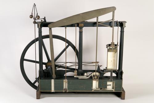 Dubbelwerkende stoommachine