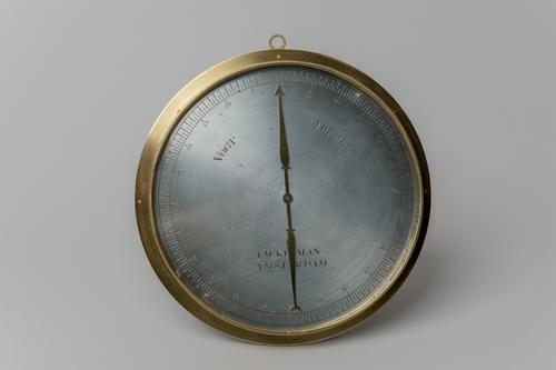 Baleinhygrometer met wijzerplaat